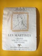 5617  -  Les Martines Féchy Suisse Dessin De Géa Augbourg - Art