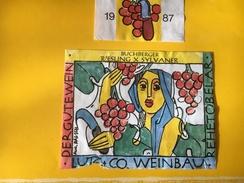 5619  -   Buchberger Riesling X Sylvaner 1987 Suisse Etat Moyen - Art