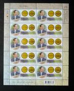 Thailand Stamp FS 2013 86th Birthday King Bhumibol Adulyadej - Humanitarian Soil Scientist Medal - Thailand