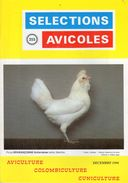 SELECTIONS AVICOLES AVICULTURE COLOMBICULTURE CUNICULTURE DECEMBRE 1996 No 355 - Animaux