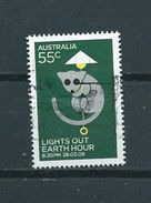 2009 Australia Earth Hour,SHEET Used/gebruikt/oblitere - 2000-09 Elizabeth II
