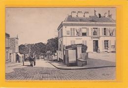 MEUDON -92-EDIFICES - MAIRIES - ATTELAGES - La Mairie Et Rue De Paris (Attelage) - Animation - Meudon