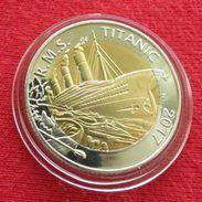 Burkina Faso 50 Francs 2017 Titanic Ship Unc - Burkina Faso