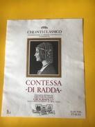 5625 -   Chianti Classico 1985 Contessa Di Radda Italie - Etiketten