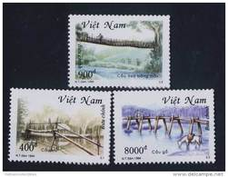 Vietnam Viet Nam MNH Perf Stamps 1994 : Rudimentary Bridges / Bridge / Horse (Ms693) - Vietnam
