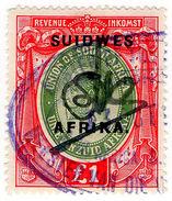 (I.B) South-West Africa Revenue : Duty Stamp £1 - Afrique Du Sud-Ouest (1923-1990)
