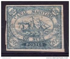 EGYPTE - SUEZ - 3* Cote 90 Euros Depart A 10% - 1915-1921 Protectorat Britannique