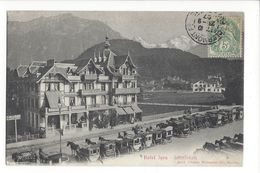 18000 - Interlaken Hôtel Jura Calèches - BE Berne
