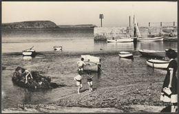 The Harbour, Portscatho, Cornwall, C.1950s - Overland Views RP Postcard - England
