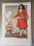 14320) SERIE PIRATI E CORSARI RENE' DUGUAY TROUIN CORSARO DEL RE FRANCIA ILLUSTRATORE NICOULINE NON VIAGGIATA - Altre Illustrazioni