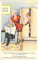 HUMOUR COMIQUE BELGE / STRIP BELGISCHE HUMOR (original Vintage) Grand Mouvement Des Troupes ... - CPA Illustration - Humour