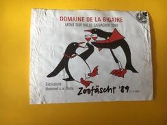 5632 -   Zoofäscht 1989 Domaine De La Bigaire 1988 Salvagnin Suisse  Pingouins - Other