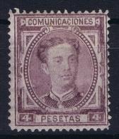 Spain: Ed 181 Mi Nr 163  Not Used (*) SG 1876 - 1875-1882 Reino: Alfonso XII