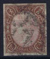Spain: Ed 71 Mi Nr 64 Obl./Gestempelt/used   1865 - 1850-68 Reino: Isabel II