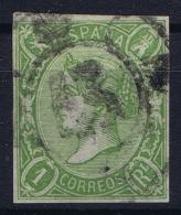 Spain: Ed 72 Mi Nr 65 Obl./Gestempelt/used   1865 - 1850-68 Reino: Isabel II