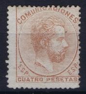 Spain: Ed 128 Mi Nr 119 Obl./Gestempelt/used   1872 - 1872-73 Reino: Amadeo I