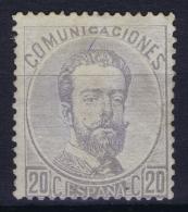 Spain: Ed 123 Mi Nr 123 MH/* Flz/ Charniere  1873 Some Paper On Back - Nuevos