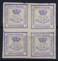 Spain: Ed 115 Mi Nr 109 Not Used (*) SG1872 - Nuevos