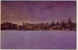 LAKE PLACID CLUB NY  VIEWED FROM MIRROR LAKE  1950 - NY - New York