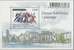 Andorra (French Adm.), Folk Dance In Andorra La Vella, 2011, MNH VF - Andorre Français