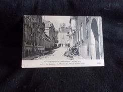 Ay. Révolution En Champagne .1911.Rue Gambetta.Le Mobilier De La Maison Gauthier , Brûlé .Voir 2 Scans . - Ay En Champagne