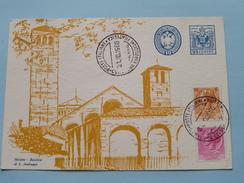 MILANO - BASILICA Di S. AMBROGIO ( Borsa Filatelico Nazionale ) 1960 ( Zie Foto ) ! - Cartes-Maximum (CM)