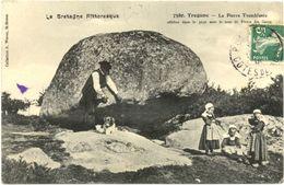 29/CPA A - Trégunc - La Pierre Tremblante - Trégunc