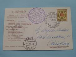 XI BOPHILEX - 1966 Bologna / Bolognese ( Zie Foto ) ! - Cartes-Maximum (CM)