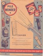 Protège-cahiers Publicitaire Pile Wonder ( Déchirure ) - Accumulators
