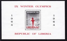 LIBERIA BLOC N°   28 ** MNH Neuf Sans Charnière, Sports, TB  (D1895) - Liberia