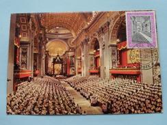 CITTA DEL VATICANO - 1963 ( Zie Foto ) ! - Cartes-Maximum (CM)