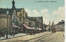 LANCS - BURNLEY - ST JAMES' STREET La1688 - Other