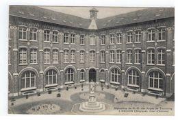 Néchin. Monastère De N.D.des Anges De Tourcoing à Néchin. Cour D'honneur 1909 - Estaimpuis