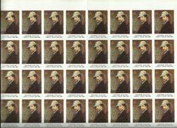 """- **32 X Vignette Of  Sluitzegel**""""OOSTENDE : Stad Van JAMES S. ENSOR (1860-1985) - Erinnophilie"""