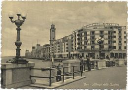 X750 Bari - Albergo Hotel Delle Nazioni - Lungomare / Viaggiata 1953 - Bari