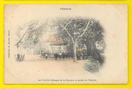 VIET-TRI Kiosque De La Musique Et Entrée De L'hôpital (Moreau) Tonkin Viet-Nam - Viêt-Nam