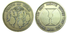 03700 GETTONE TOKEN JETON FICHA ADVERTISING COMMEMORATIVE FURTH IM WALD - Allemagne