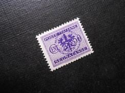 D.R.Mi 7  50C**/MNH  - Deutsche Besetzungsausgaben - Portomarken -1939/45 (Laibach) - 1941  Mi 6,00 - Bezetting 1938-45