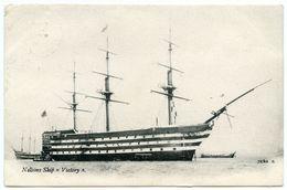 "PORTSMOUTH : NELSON'S SHIP ""VICTORY"" / POSTMARK - ROMSEY, HAMPSHIRE - Portsmouth"