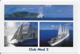 CPSM  Bateau  Club Med 2 - Dampfer