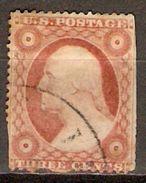 ETATS - UNIS   -   1857 . Y&T N° 10 Oblitéré. - Used Stamps
