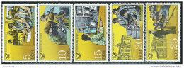 DDR 1981 Nuovo** - Mi.2583/7  Yv.2241/5 - [6] Repubblica Democratica