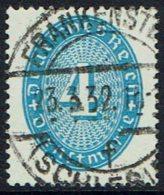 DR Dienstmarken: Wertziffer(n) Im Oval Mi Nr 127, Gestempelt - Dienstzegels