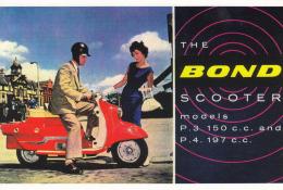 Motorroller Bond,Vintage Motor Scooter Club,ungelaufen - Motorbikes