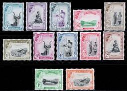 Swaziland 1956 MH Set SG 53/64 Cat £100 - Swaziland (...-1967)