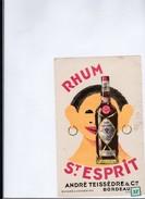 1  Buvard  Rhum   St-Esprit - Buvards, Protège-cahiers Illustrés