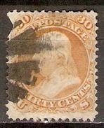 ETATS - UNIS   -   1861 . Y&T N° 25 Oblitéré.   Cote  160,00 Euros - 1847-99 Emissioni Generali