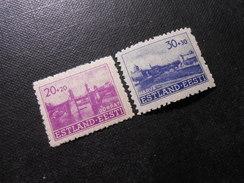 D.R.Mi 5/6  20+20/30+30K**/MNH - Deutsche Besetzungsausgaben 1939/45 (Estland) - 1941 - Ocupación 1938 – 45