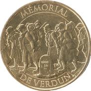 55 MEUSE VERDUN LE MEMORIAL 1914 - 1918 MÉDAILLE MONNAIE DE PARIS 2016 JETON TOKEN MEDALS COINS - 2016