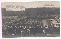 36875   -  Barchon Rabosée   Cimetière  Soldats  1915 - Blegny